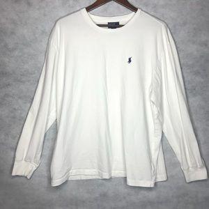 👽 Polo by Ralph Lauren Long-Sleeve Logo Shirt